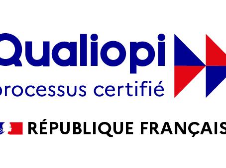 Avec succès, nous avons obtenu la certification qualité de nos formations avec 0 non-conformité.