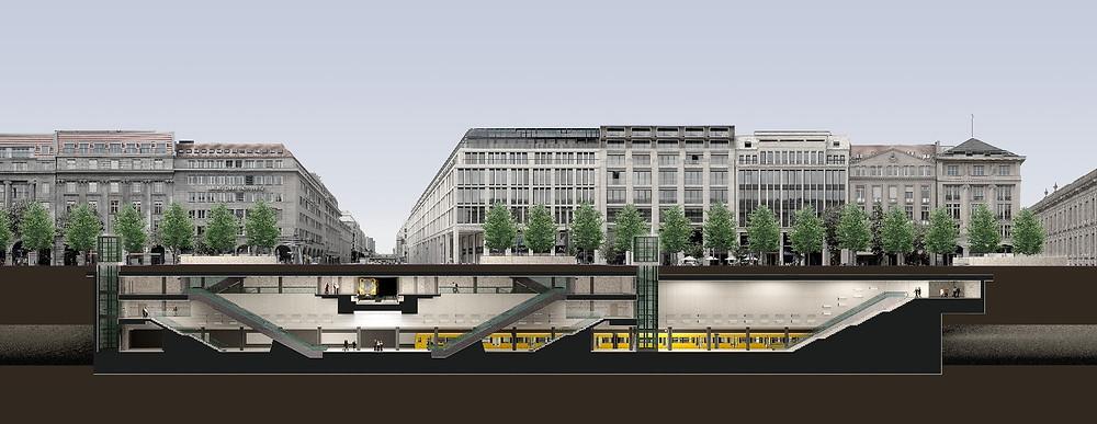 U-Bahnhof Unter den Linden Lückenschluss
