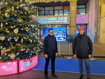 Tausende Lichter zur Weihnachtszeit in Berlin-Mitte
