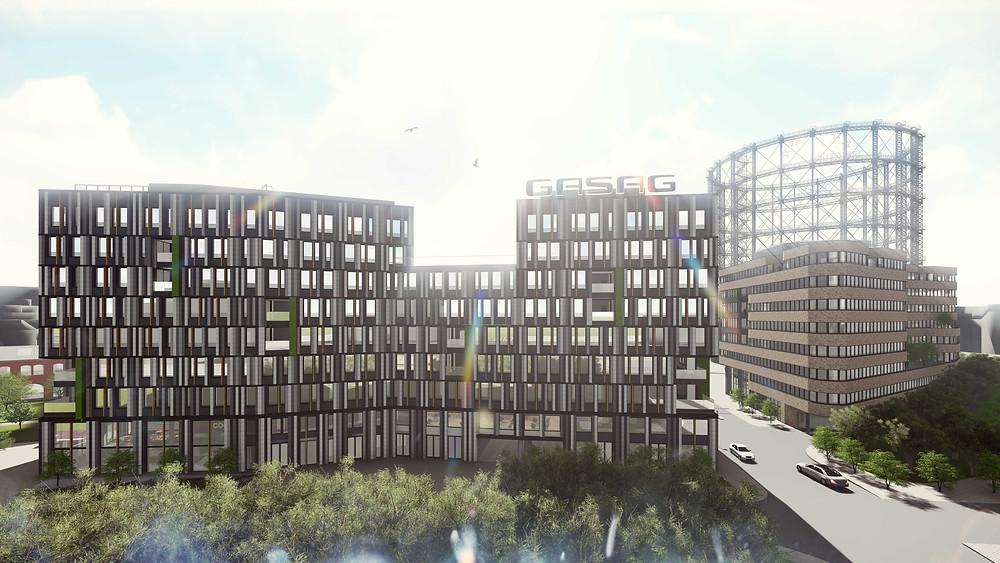 Das neue GASAG-Gebäude