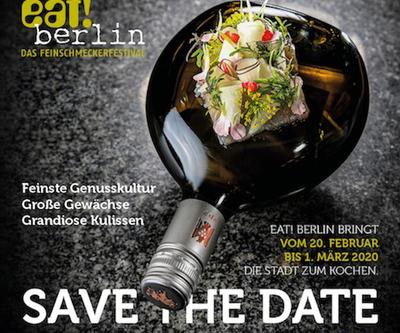 eat! berlin 2020: Programm des Feinschmeckerfestivals steht