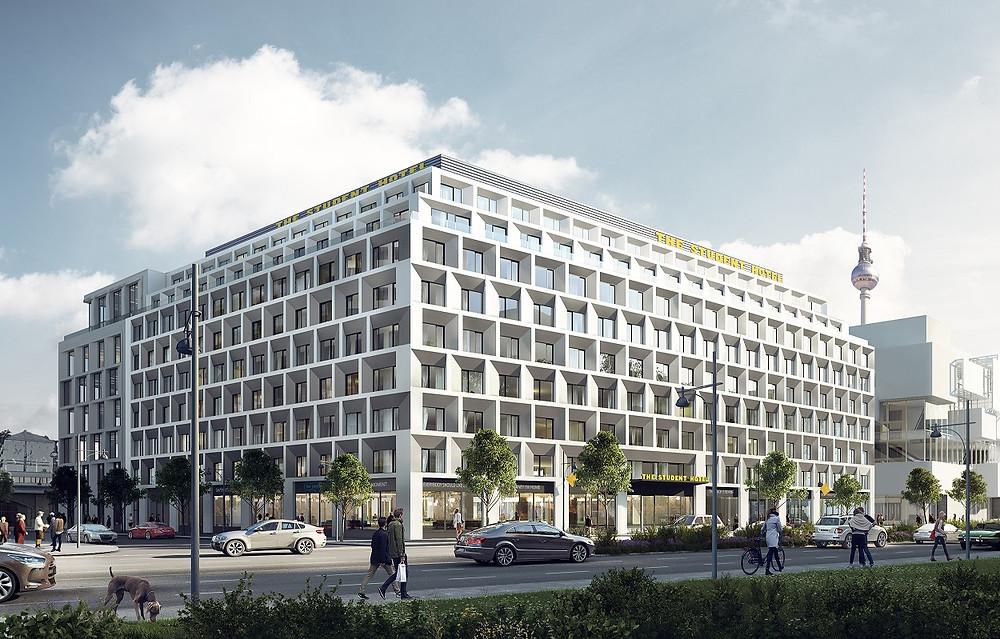 Alexander Quartier. Brick Visual/KSP Jürgen Engel Architekten, Berlin