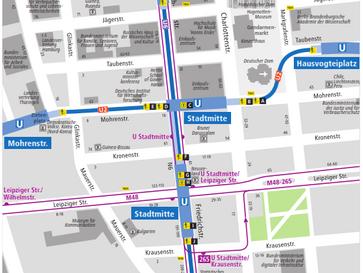 Neues Wegeleitsystem der BVG wird ausgeweitet