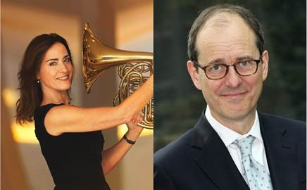 Sarah Willis und Sir Sebastian Wood