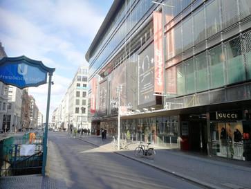 Galeries Lafayette teilweise geöffnet