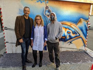 Temporäres Kunstprojekt in MITTE gestartet