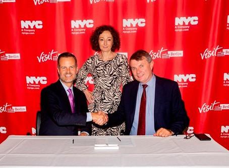 Berlin und New York jetzt Tourismus-Partner