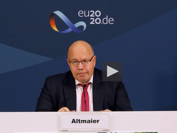 Talk mit Altmaier zum Thema Ladensterben