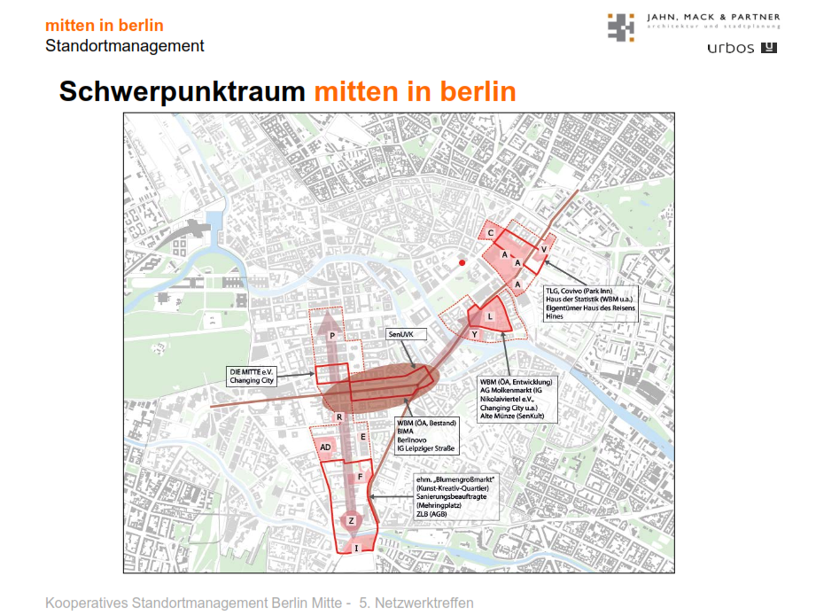 Netzwerktreffen des Standortmanagements mitten in berlin