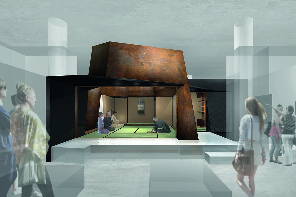 Teehaus für das Humboldt Forum