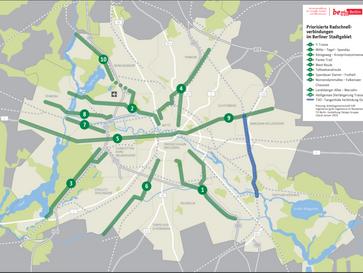 Diskussion zum geplanten Radschnellweg