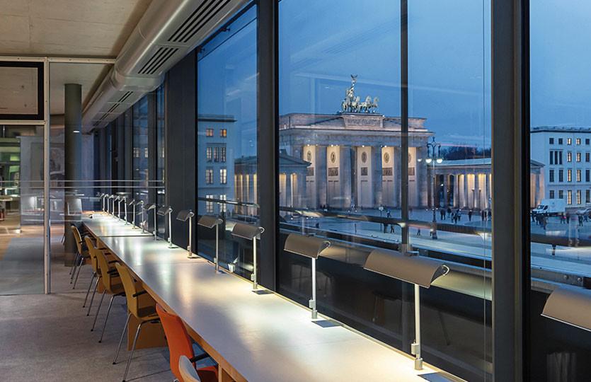 Akademie der Künste am Pariser Platz, Lesesaal.