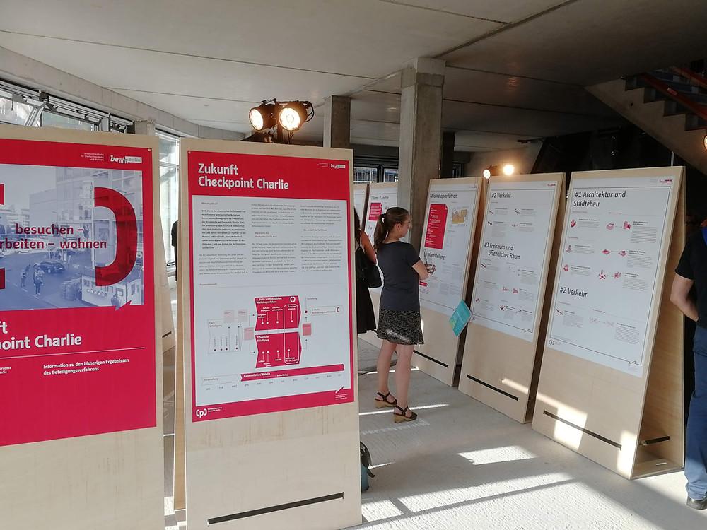 Ausstellung Zukunft Checkpoint Charlie
