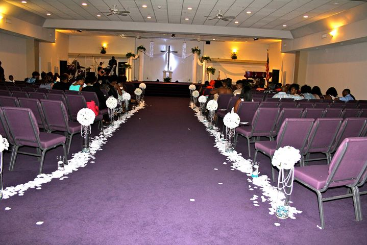the church before it filled up
