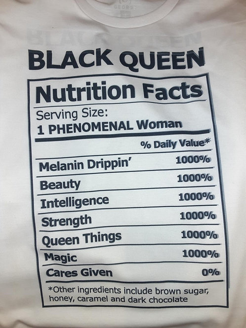 Black Queen shirt