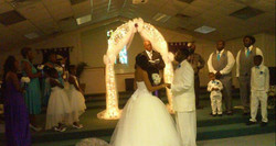 Congrats to the bride and groom