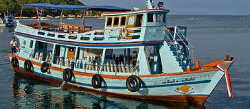 Koh Tao Tauchboot