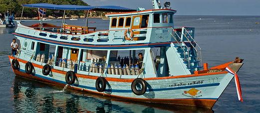 Grosse Tauchboot Koh Tao
