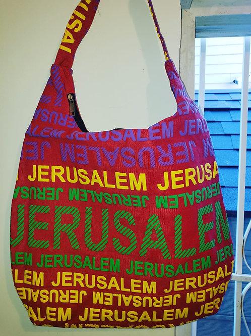 Jerusalem Shoulder Bag