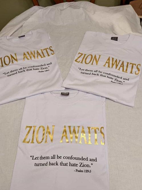 Zion Await T-Shirt