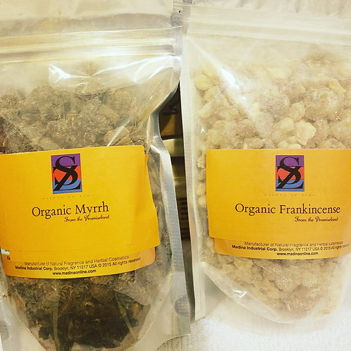 Organic Frankincense from Israel