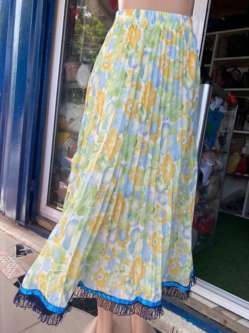 Women Skirt with Fringes