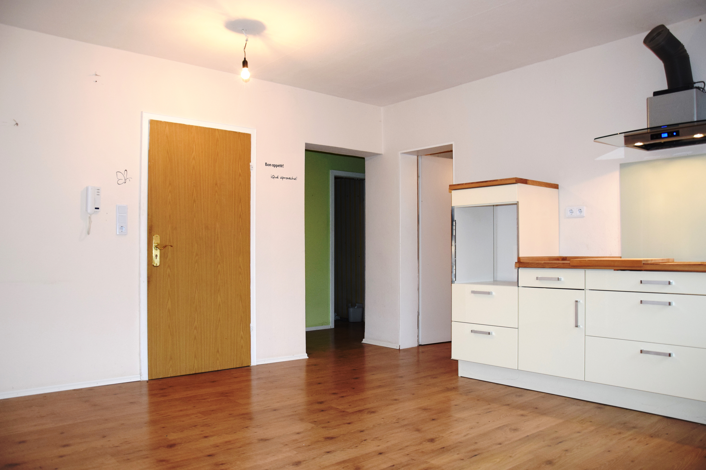 Wohnküche + Eingang