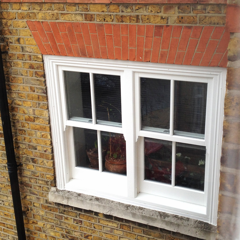 Double Timber Sash Window