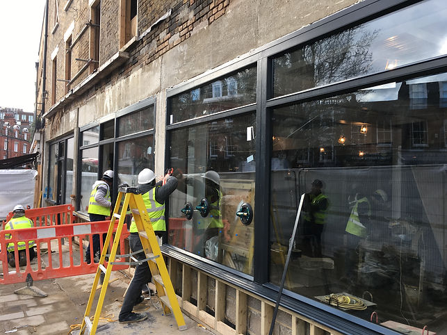 commercial timber window installers