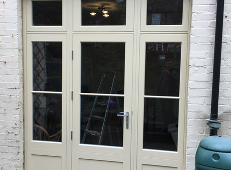 Timber French Doors in North West London