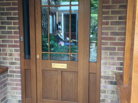 Oak Timber Doors in North London