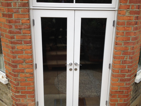 Replacement Hardwood French Doors in North London.