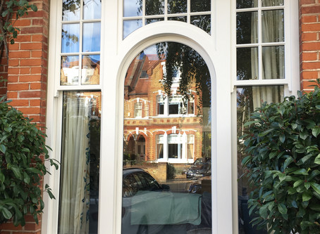 Timber Sash Windows in Putney