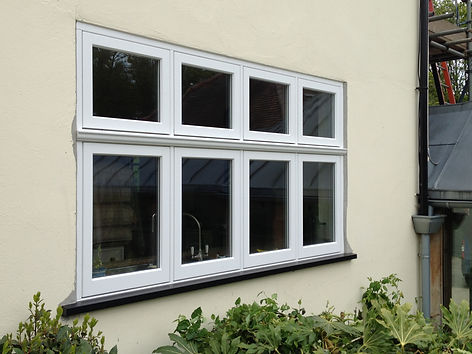 Timber flush windows, wooden casement windows and doors, timber windows london, traditional hardwood windows