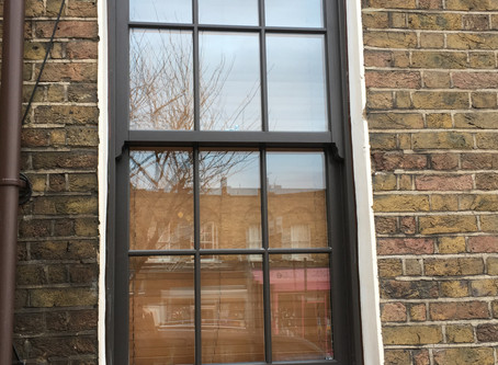 Wooden Sash Windows in Hackney, East London