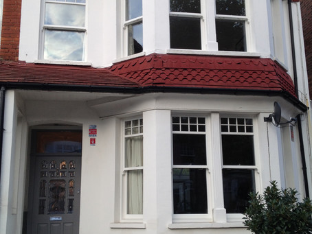 Wooden Sash Windows In North London