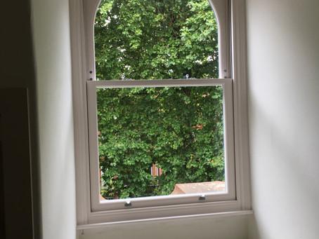 Timber Sash Windows in Sloane Square, London