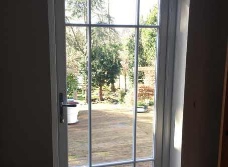 Timber doors in Wimbledon, South West London