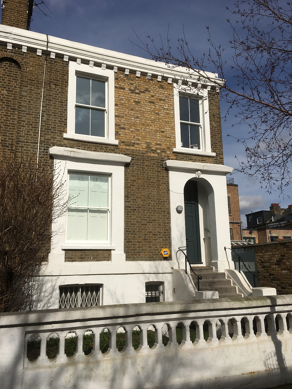 Replacement Timber sash windows in East London