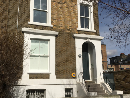 Replacement Timber Sash Windows in Hackney, East London