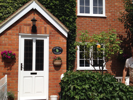 Cottage Style Timber Windows & Doors In Oxfordshire