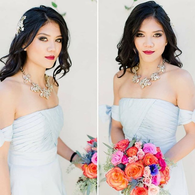 Asian Bridesmaid Makeup by Lettie Mix