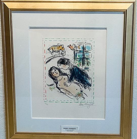 Marc Chagall- Honeymoon