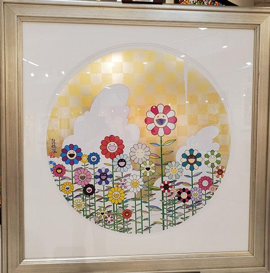 Takashi Murakami- Happy Flowers