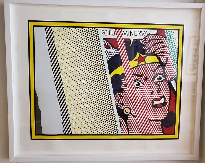 Roy Lichtenstein- Wonder Woman