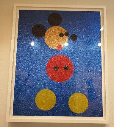 Damien Hirst- Mickey Mouse