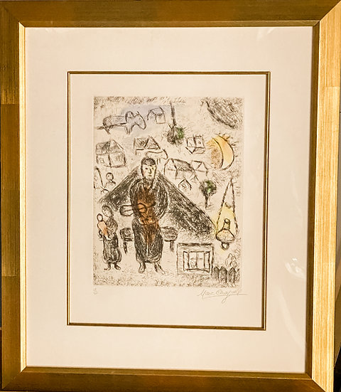 Marc Chagall- The Village