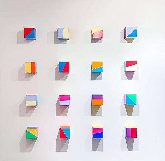 Ron Agam- 16 squares