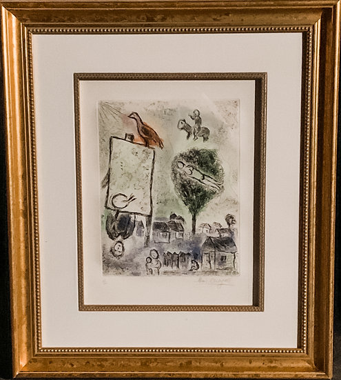 Marc Chagall- Bird on Easel