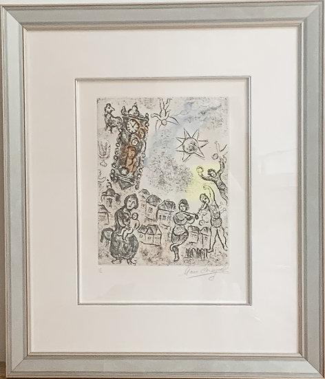 Marc Chagall- Clocktower